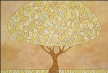 Casey Craig Tree Paintings / Contemporary and stylized tree paintings. See more on my website at www.caseycraig.com