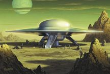 Science Fiction / Future tech, space ships, aliens, and other worlds. / by David Lee