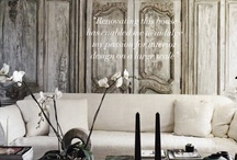 DESIGN ......ALL IN THE DETAILS / Every little thing creates your style at home. / by Roberta Peters