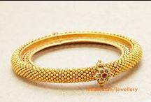 Gold Bangles & bracelets