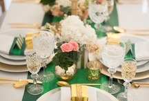 Entertaining inspiration / Fabulous entertaining ideas, from tablescapes to decor and gifts, settings and food.  / by Silver Cabbagio