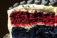Velvet Cakes / Red and Blue Velvet Cakes, what can be better?