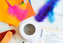 Kid Activities and Crafts / Kids love to make crafts! This board is full of fun, simple, DIY craft projects and ideas that your kids will be able to do with minimal help. Plus there are activities to do with your kids when you are on summer breaks and want to keep them from getting bored!  / by Cupcakes and Cutlery | Cool mom style, family and lifestyle blog