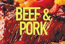 Beef & Pork / by Sandra Lee