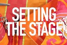 Setting the Stage / by Sandra Lee