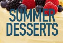 Summer Time Desserts / by Sandra Lee