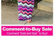 UOI's Comment-to-Buy Sale / Buy directly from Pinterest to get exclusive discounts on popular UOI styles.  / by UOI Boutique