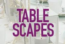 Tablescapes / Great tablescapes for entertaining. / by Sandra Lee