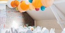 Under The Paper Lantern - wedding paper lanterns, party paper decorations with a French touch! / Here are our favorite pictures of our wedding paper lanterns, nursery paper decorations and more party decor ideas.