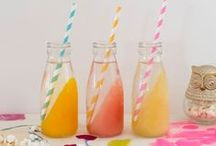 Kid Drink Recipes / These beverage recipes are nonalcoholic so they are perfect for kids! Fun kid drinks are a cool way to give the kids an extra special summer treat! I mean, what kid doesn't smile at a milkshake?