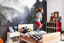 Cool Kid Room Ideas / Little kid's rooms don't have to be boring. This board is full of cool kid room ideas for little boys and girls. Their rooms should have personality and be able to grow with them.