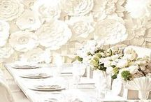 Wedding Tablescapes / by Sandra Lee