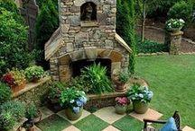 Gardens, oh gardens! / Outdoor beauty / by Kelly Brennan Mooney