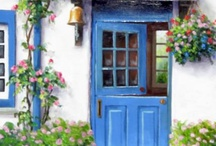 Dutch Doors...love them, and other random doors / by Karla Moran