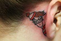 hair, nails, tattoos, and piercings / by Kelsie Caudill