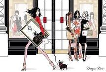 Artist Impression / My favorite fashion illustrators and their chic illustrations