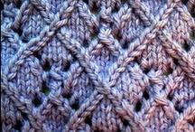 tricot et crochet / Des choses au tricot et au crochet que j'ai envie de faire.