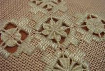 Bordado Hardanger / Hardanger Bargello. Adoro! http://stitchinfingers.ning.com/photo/hardanger-bargello-doily-twisted-ribbon