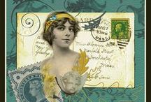 Collage/Mixed Media/Art Journals / Just Create, Already! / by Linda Buechler