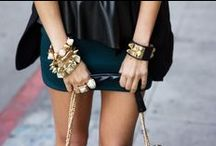 Biker chick / Chic in leather n studs