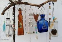 Windchimes, Mobiles, & Suncatchers / Pretty things that dance, sparkle, and sing / by Linda Buechler