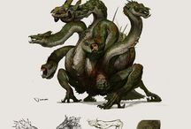 Characters & Creatures / by Kyle Kane