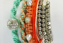 Magnetic Clasp Bracelets / These NEW Multi-strand wrap bracelets are vibrant, colorful, edgy, and fasten with a sleek magnetic clasp!