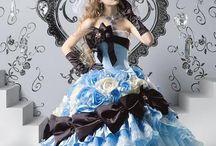 Wedding Dress ウェディングドレス / ドレスのデザインを見て楽しむだけでも幸せになれますね〜(*^ω^*)