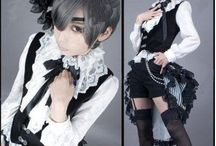 Gothic Black fashion ゴシック