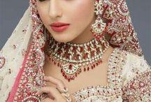 Indian fashion インドの花嫁衣装