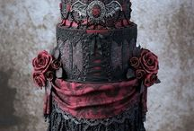 Gothic cake ハロウィンケーキ