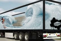 Truck & Car wrap design トラックデザイン