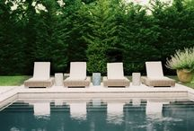 Exteriors + Outdoors + Pools / by Meg Biram