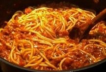 Pasta & Pasta Sauces / Pasta dishes of all sorts / by Lindsey Smith Mahan