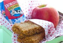 Back to School Lunches / Smooth out the start of September with these easy back-to-school lunches and snacks that kids will love.
