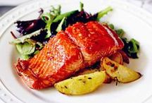 Fish and Seafood Recipes / One fish, two fish, salmon, and a tuna fish. Recipes from under the sea.