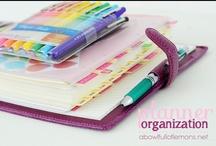 HOME: Organization / by Arwen Morton