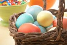 Easter Eats / A guide to everything Easter, from recipes to entertainment. What would this holiday be without chocolate bunnies and egg hunts?