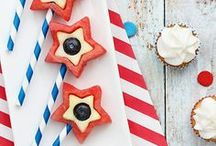 4th of July Recipes / Celebrate red, white, and blue with these patriotic recipes—they're sure to set off fireworks.