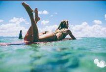Girls on Board / Skateboard, surf, rollerblade....get on the summer sports