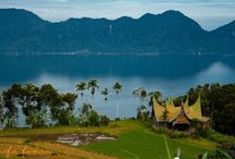 Visit Indonesia / The beautiful places everywhere in Indonesia.  Some photos are taken by me