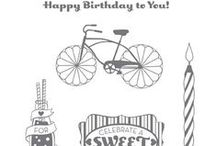 Cycle Celebrations stamp set / by Tammy Jo Tanner