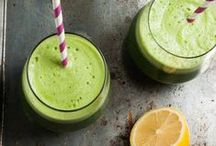 Just Juicing / Everything, including kale, tastes better blended. Smoothies, green juices, and more!