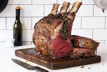 Meat Dinners and Dishes / We'll take you to the butcher shop: marinades and cuts included. Skirt steak, fillet mignon, and prime rib recipes for red meat lovers.