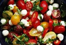 Summertime Spreads / These light and colorful recipes will help you serve simple dishes under the sun.