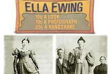 Ella Ewing. Our local Giantess