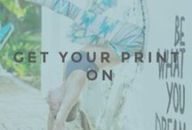 GET YOUR PRINT ON / We hope you're ready for all the compliments your going to get in these fun prints.