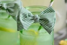 St. Patrick's Day Snacks & Crafts / Inspiration for St. Patrick's Day Parade Parties.