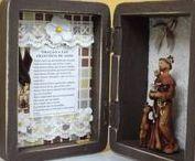 Adornos de Fé / Oratórios, relicários, acessórios e bijuterias de proteção