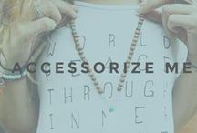 ACCESSORIZE ME / Keep your yogi look fresh and stylish on and off the mat with our huge collection of jewelry, yoga socks, organic yoga headbands and sturdy bags that carry more than your mat.
